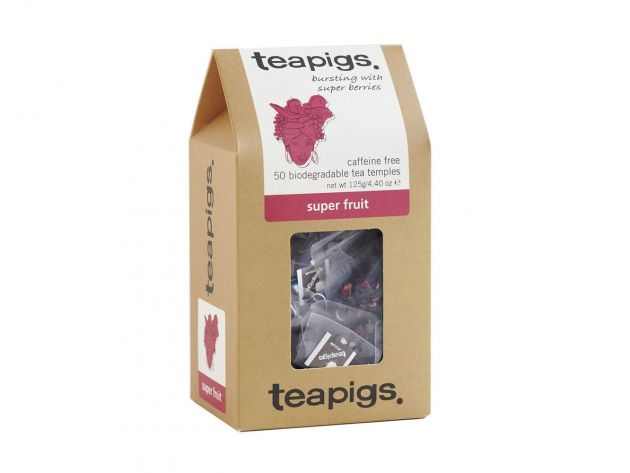 Čaj teapigs Super Fruit - 50 ks