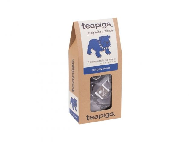 Čaj teapigs Earl Grey Strong - 15 ks