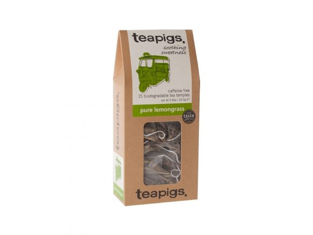 Čaj teapigs Pure Lemongrass - 15 ks